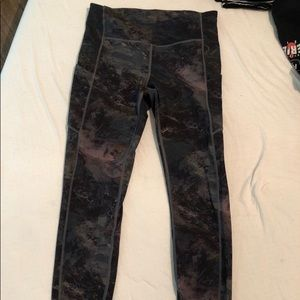 "NWOT Lululemon ""speed up"" leggings, size 6"